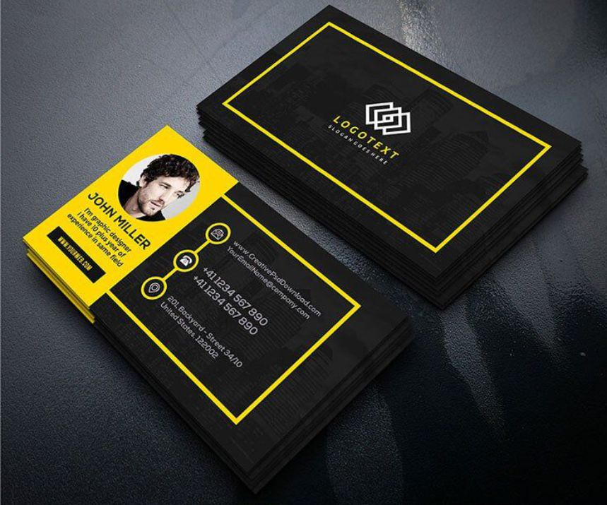 Square Business Cards Printing Johannesburg